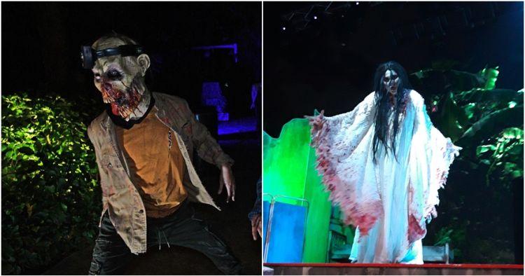 4 Sensasi horor bisa kamu rasakan di sini, ada yang dikejar zombie