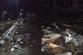 BNPB sebut satu keluarga terdiri 5 orang hilang diterjang tsunami Palu
