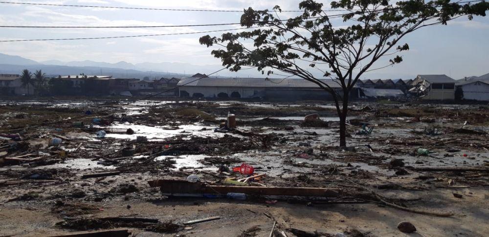 kondisi pesisir gempa palu © Twitter/@Sutopo_PN