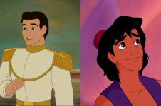 8 Ilustrasi pangeran Disney saat tua, hasil wajahnya tak kamu sangka