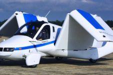 Mobil terbang siap dijual Oktober ini, jadi pesawat dalam semenit