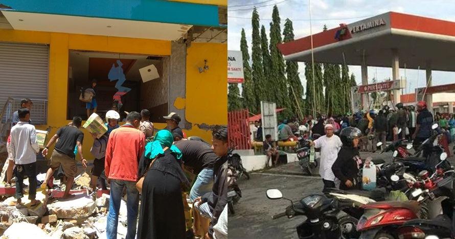 8 Potret aksi penjarahan logistik korban gempa Palu-Donggala, miris