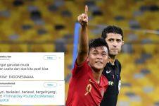 10 Kehebohan warganet sambut gol Zico ke gawang Australia