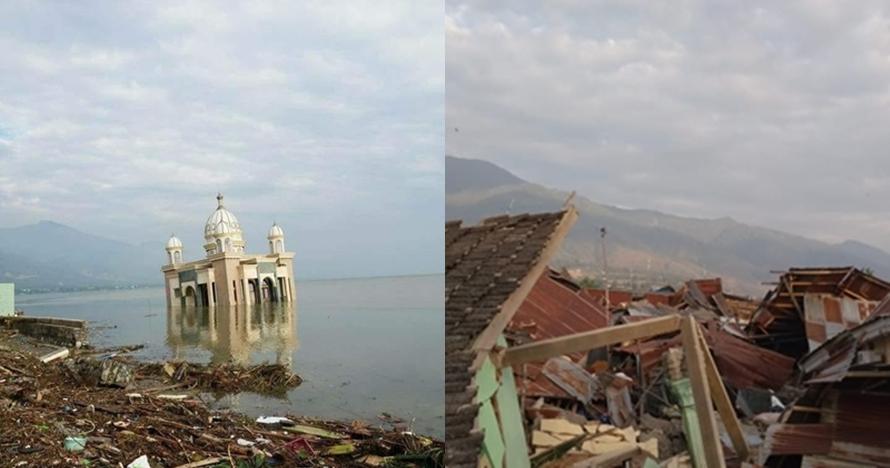 10 Sejarah gempa serta tsunami yang pernah terjadi di Donggala & Palu