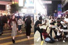 7 Potret seru Via Vallen pergi ke Hong Kong, ngapain aja tuh