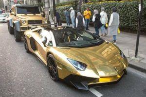 5 Mobil ini dimodifikasi memakai emas, harganya bikin melongo