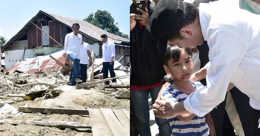 Kisah bocah korban gempa temui Jokowi, ketegarannya bikin mewek