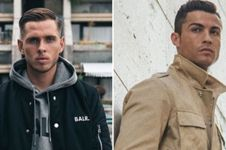 9 Pemain bola ini punya bisnis sampingan clothing line, makin tajir