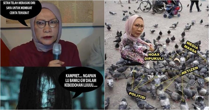 10 Meme ala warganet tentang Ratna Sarumpaet ini bikin berdeham