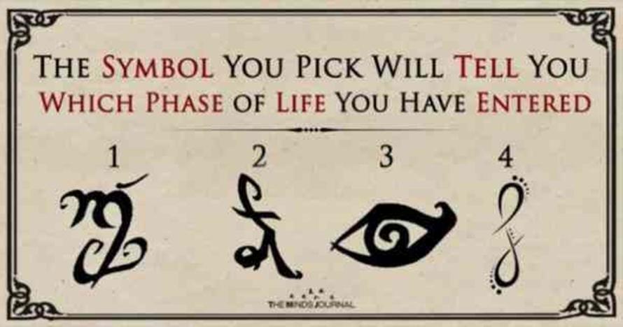 Pilih 1 dari 4 simbol kuno ini, fase penting di hidupmu akan terungkap
