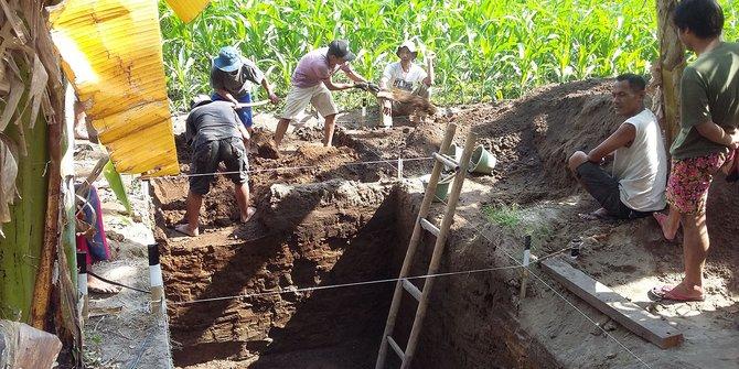 5 Penampakan candi peninggalan abad IX yang baru ditemukan di Jogja