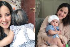 Unggah foto saat jadi mama muda, penampilan Andi Soraya tuai pujian