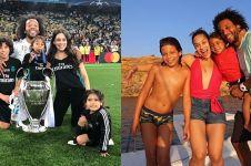 10 Tingkah lucu anak Marcelo bek Real Madrid ini bikin gemas