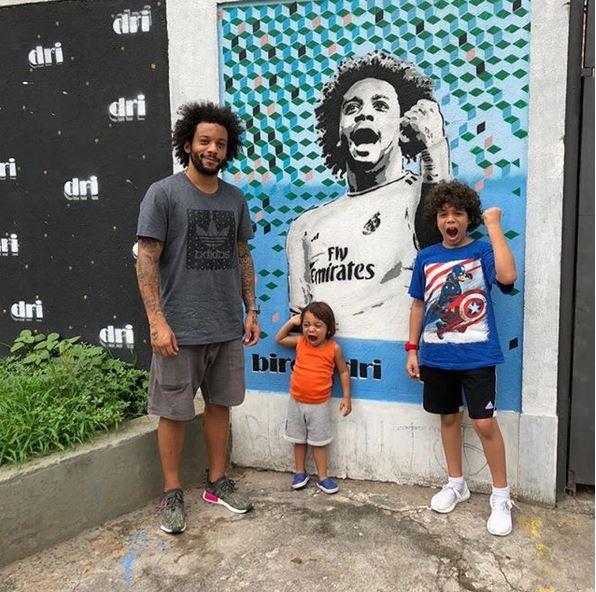 Anak Marcelo instagram.com/@marcelotwelve