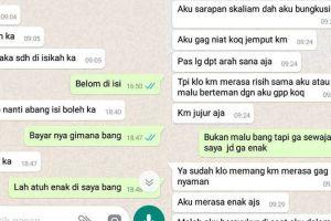 8 Chat kasih tak sampai driver ojek online ke penumpang, ending miris
