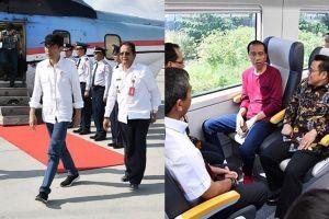 7 Gaya Presiden Jokowi bercelana jeans saat tugas negara