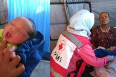 5 Momen mengharukan bayi lahir saat gempa dan tsunami, ada yang kembar