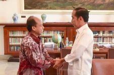 5 Momen hangat pertemuan Sutopo dengan Jokowi, sempat ngevlog bareng