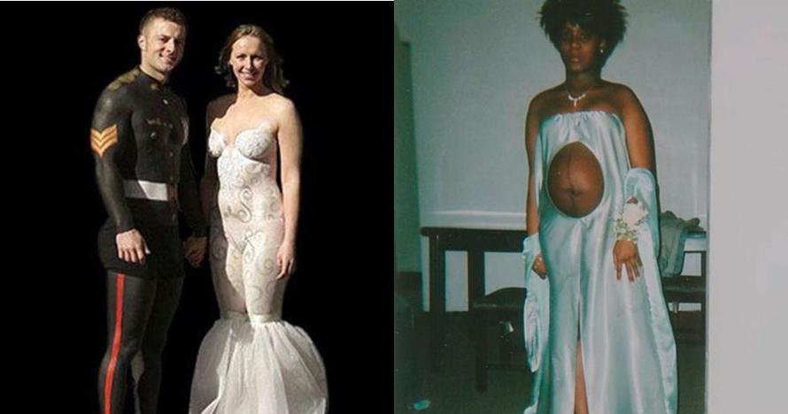 10 Gaun Pengantin Ini Desainnya Nyeleneh Abis Bikin Mikir Kemana