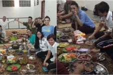Keseruan pedangdut Tanah Air dinner di rumah Soimah, hangat banget