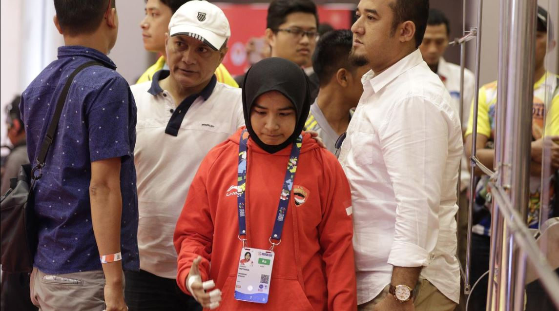 Atlet ini didiskualifikasi kerena tolak lepas hijab, ini penjelasannya