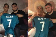 Khabib ternyata fans Cristiano Ronaldo, ini 7 potret buktinya