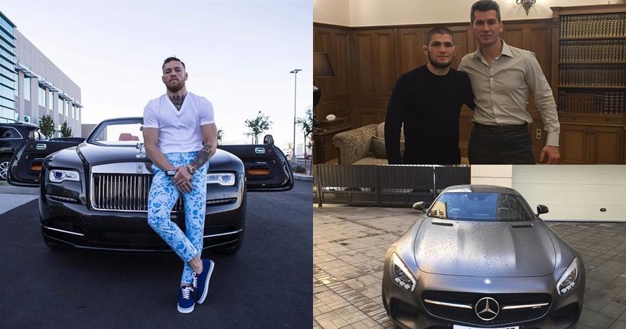 Adu keren 5 koleksi mobil Khabib vs McGregor, harganya bikin melongo