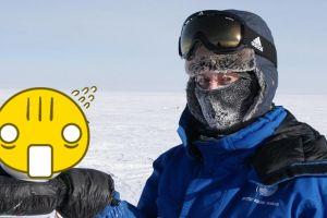 Ilmuwan ini makan mi instan di suhu -60 derajat, fotonya bikin melongo