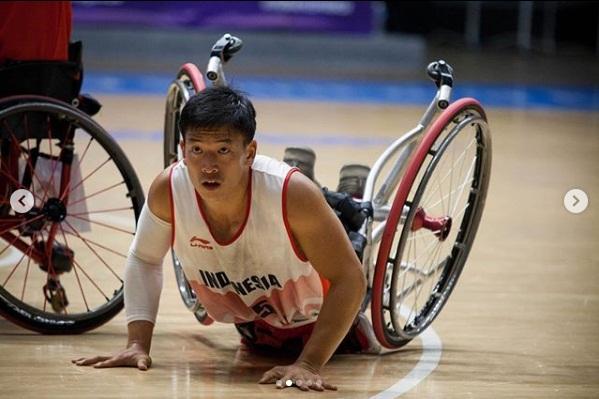 10 Potret jatuh bangun tim basket Indonesia di Asian Para Games 2018