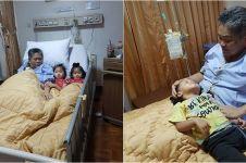10 Kenangan haru mendiang istri Indro asuh cucu meski sakit berat