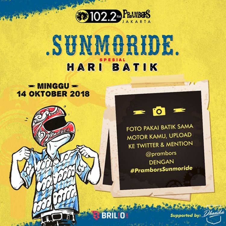 Spesial Hari Batik, SUNMORIDE siap memeriahkan 4 kota besar Indonesia!