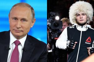 Bakal dihukum sang ayah, pembelaan Putin ini bikin Khabib tersenyum