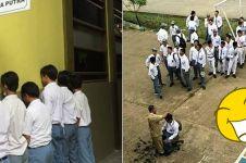 12 Momen 'dihukum guru' ini bikin kamu nostalgia ke zaman sekolah