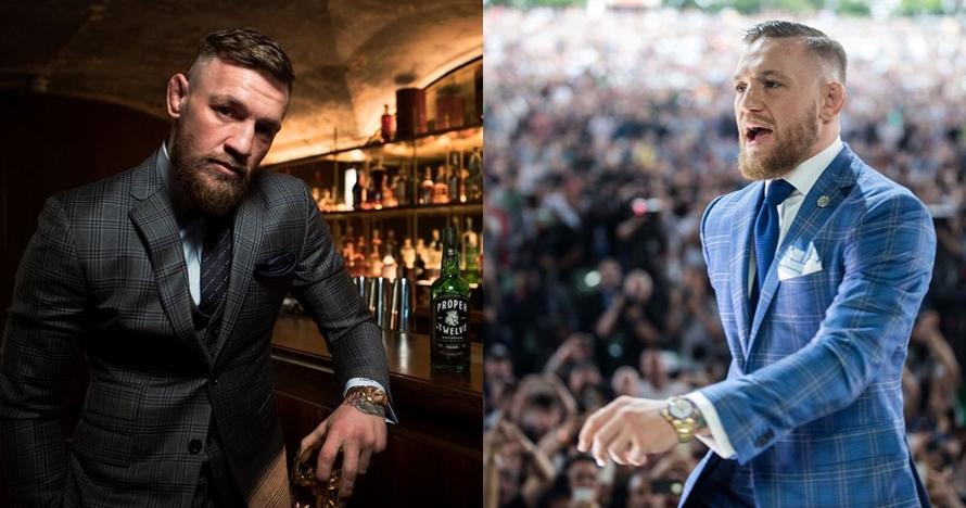 10 Gaya Conor McGregor di luar arena laga, punya selera fashion