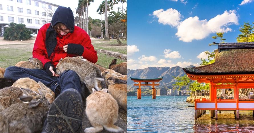 5 Spot wisata unik Hiroshima yang wajib kamu coba, ada Pulau Kelinci