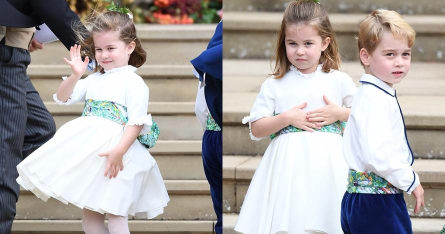10 Potret imutnya George & Charlotte jadi pengiring pengantin, gemesin