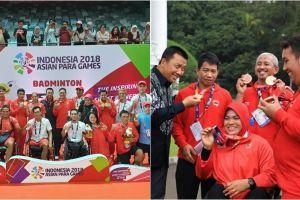 Jelang penutupaan Asian Para Games 2018, ini jumlah medali Indonesia