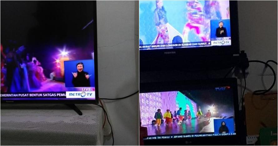 Aksi peraga bahasa isyarat closing Asian Para Games bikin salah fokus