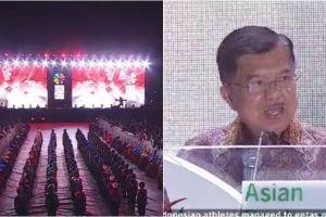 Di closing Asian Para Games, Wapres JK sebut target Indonesia meleset