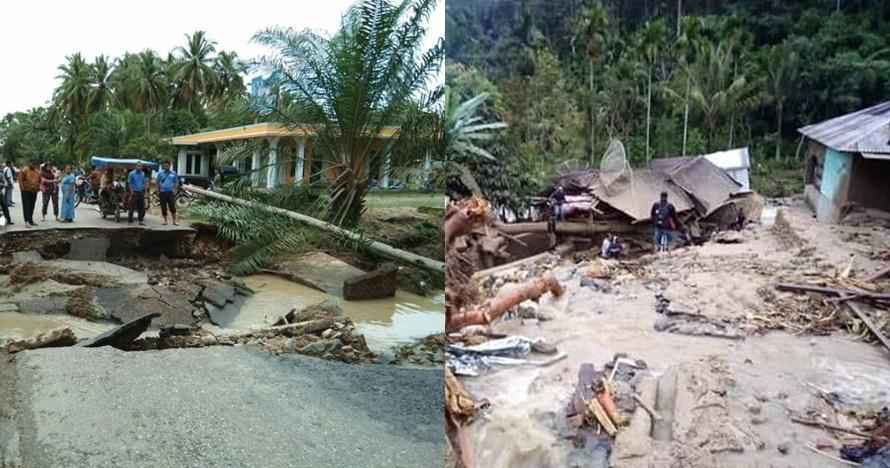 10 potret terkini banjir Mandailing Natal, 17 orang meninggal