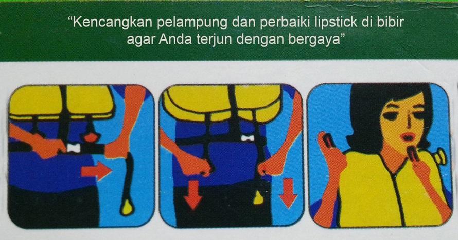 6 Meme panduan keselamatan penerbangan ini kocaknya menyesatkan