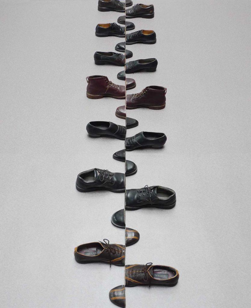Cuma pakai sepatu bekas, 10 kreasi seniman ini Instagramable banget © 2018 brilio.net