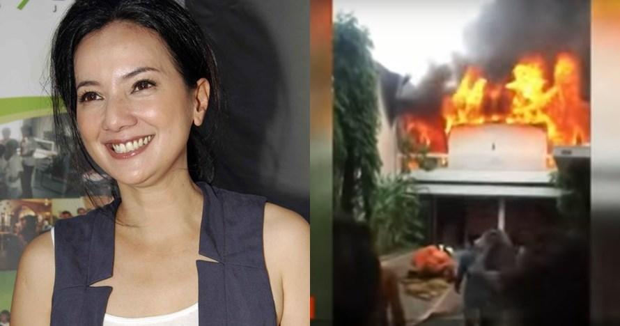 9 Penampakan rumah kerabat Cut Mini yang terbakar, tak ada korban