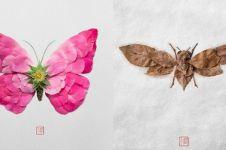 10 Potret karya seni dari potongan tumbuhan, kreatifnya nggak nanggung