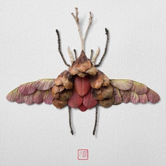 10 Potret karya seni dari potongan tumbuhan, kreatifnya nggak nanggung © 2018 brilio.net