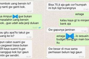 Chat orang berutang 'dikasih hati minta jantung' ini bikin ikut emosi