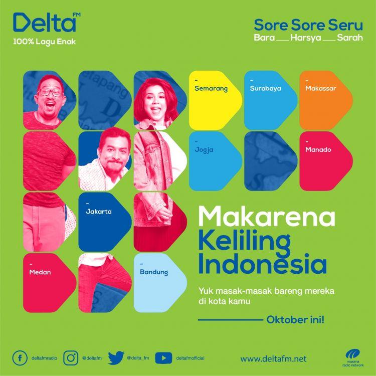 Makarena, program baru Delta FM yang siap manjakan penikmat kuliner