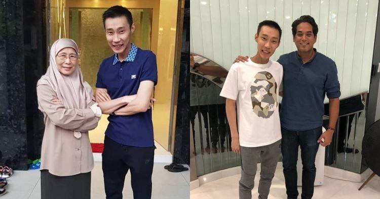 5 Potret terbaru Lee Chong Wei usai jalani perawatan ...