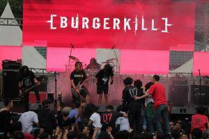 Begini gaya Burgerkill menghentak panggung PreangerFest, cadas abis
