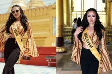 Picu kontroversi, ini 8 gaya Debra Miss Grand Malaysia kenakan batik
